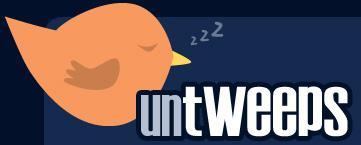 Сервис Untweeps – убираем неактивных твиттерян